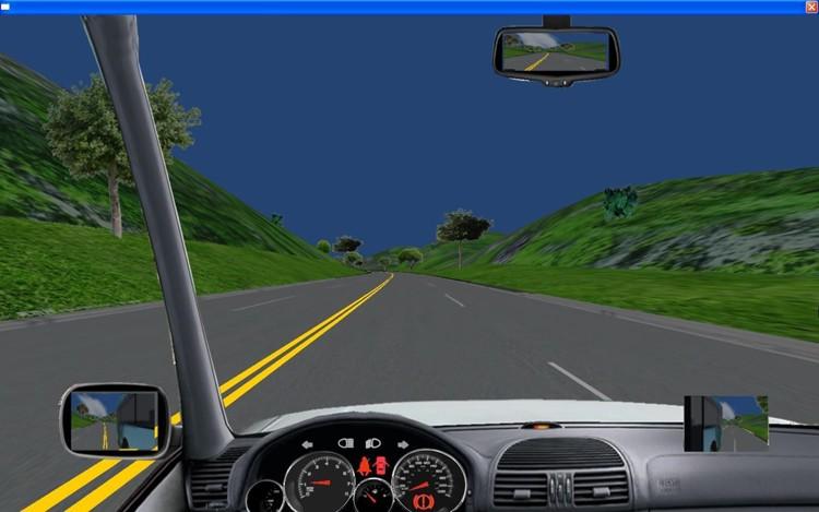 最新款汽车驾驶模拟器