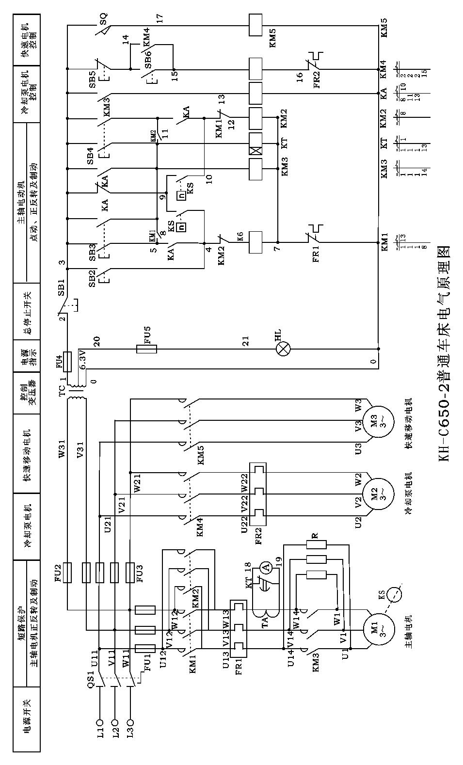 技术文章  三个380v三相鼠笼异步电动机,分别用作主轴电动机,冷却泵和
