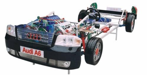 KH-TM14奥迪A6轿车透明整车模型
