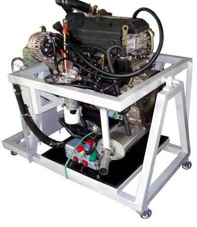 khqc03依维柯电控柴油发动机拆装运行实训台