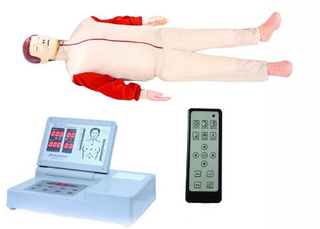 KH/CRP490S 高级全自动半身心肺复苏模拟人(带遥控器)