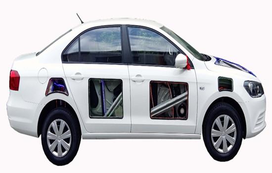 KH-JP807 全新大众捷达整车解剖模型