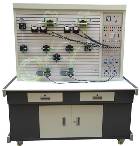 透明液压与气动PLC控制综合实训装置