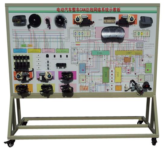 KH-XNY09电动汽车整车CAN总线网络系统示教板