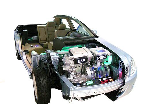 KH-HD08混合动力整车解剖检测诊断实训台