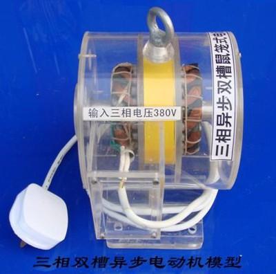 三相异步双槽鼠笼式电动机模型