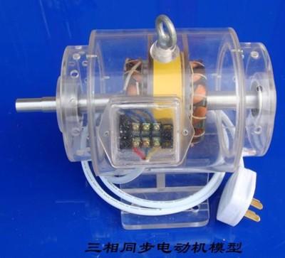 三相同步电动机模型