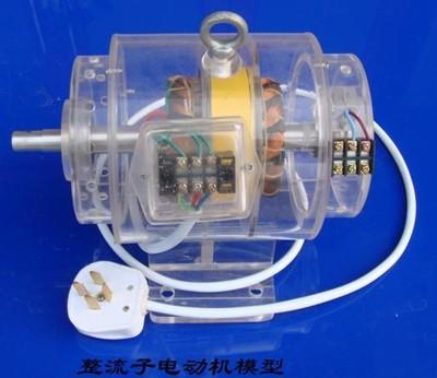 三相整流子电动机模型