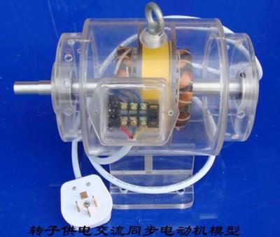 转子供电交流同步电动机模型